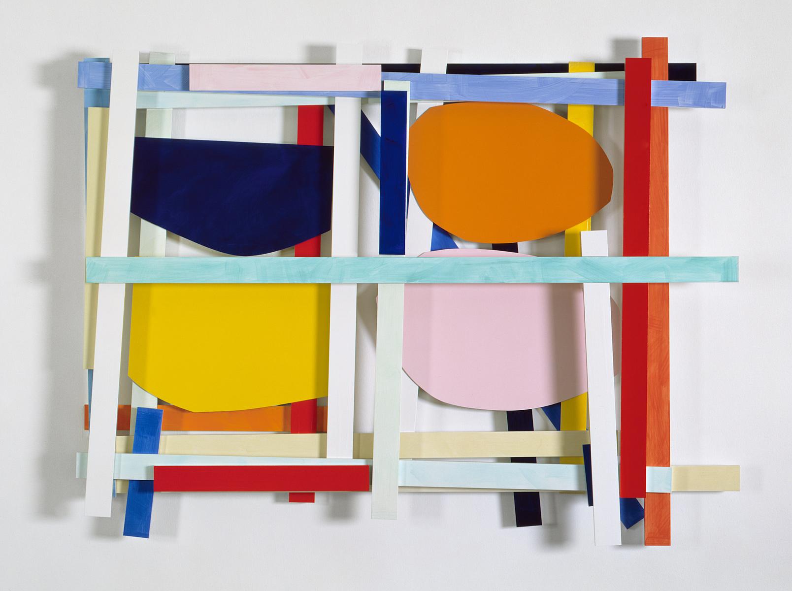 Imi Knoebel Vier Bilder Exhibitions Galerie B 228 Rbel